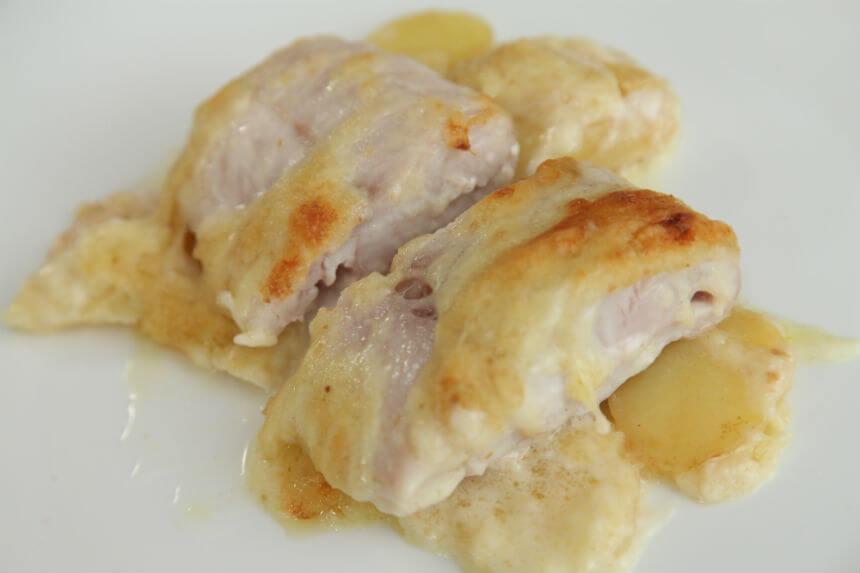 Gratinirani file grgeča na posteljici od krumpira - Fini Recepti by Crochef