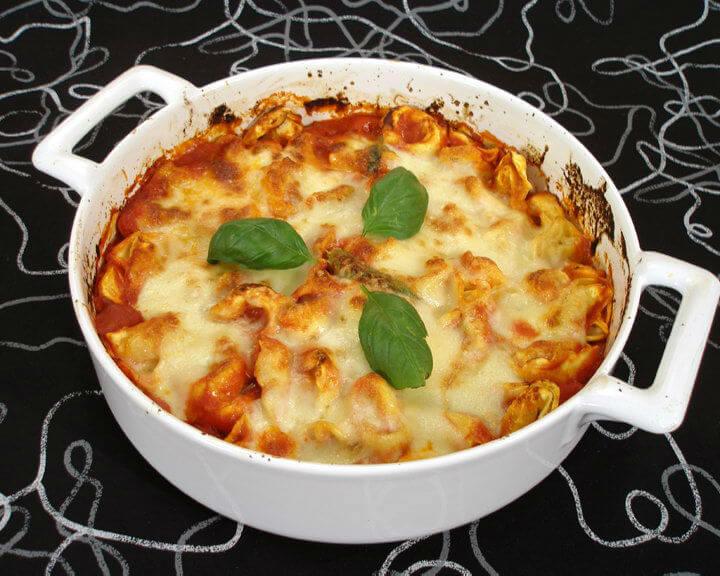 Gratinirani tortellini - Fini recepti