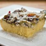 Zapečeno povrće i gljive na palenti