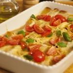 Cannelloni s nadjevom od svježih kobasica