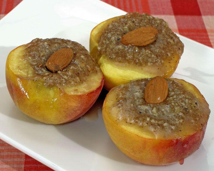 Nadjevene pečene breskve - Fini recepti