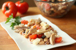 Grah salata sa skušom i mozzarellom