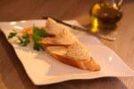 Pjenica od šunke i posnog sira