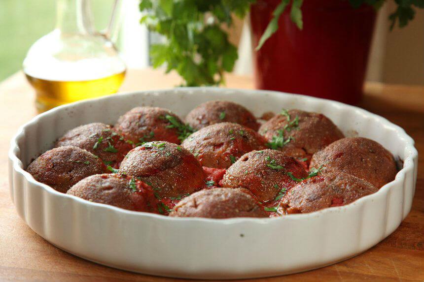 Vegetarijanske polpete u umaku od rajčice
