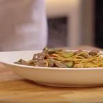 Junetina s gljivama na azijski način
