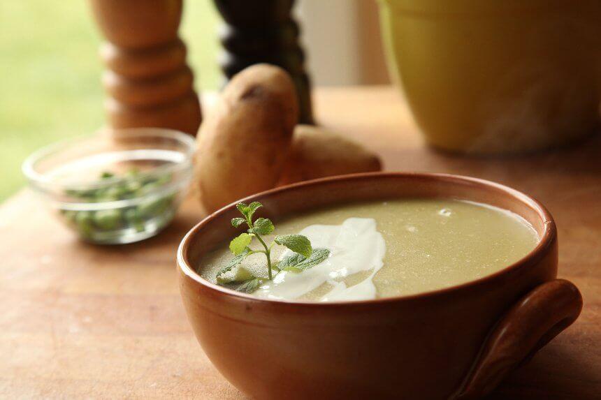 Krem juha od krumpira i boba