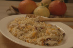Rižoto s bundevom i gljivama