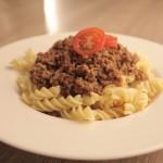 tjestenina s umakom bolognese