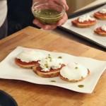 Aromatični kukuruzni kruh i poširana jaja