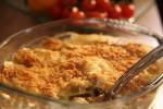 Gratinirani složenac od poriluka i krumpira