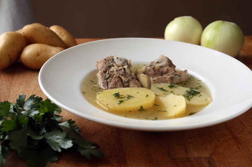 Irsko varivo s janjetinom i krumpirom