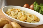 Prženi krumpir s lukom i češnjakom na lyonski način