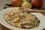 Rižoto s muškatnom bundevom i shiitake gljivama