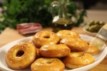 Slani kolačići s maslinama i pancetom
