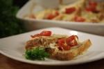 Složenac od kukuruznog kruha, buđole i sira