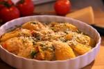 Složenac od patlidžana, paprika,tikvica i rajčica
