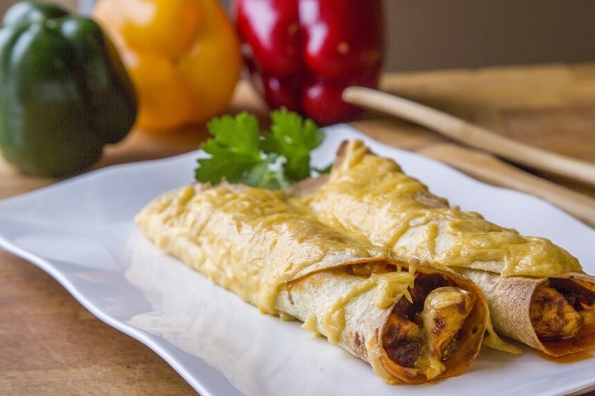 Tortilje s piletinom i povrtnim mixo-om (3)
