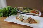 Tuna, tikvice, paprike i patlidžani s grilla