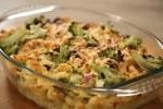 Zapečena tjestenina s tunjevinom i brokulom
