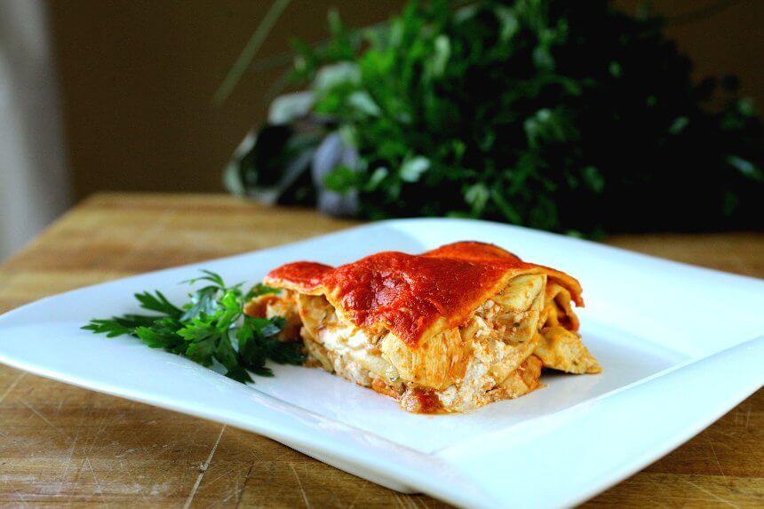 Zapecene meksicke tortilje s piletinom