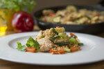 Piletina s bulgurom i povrćem