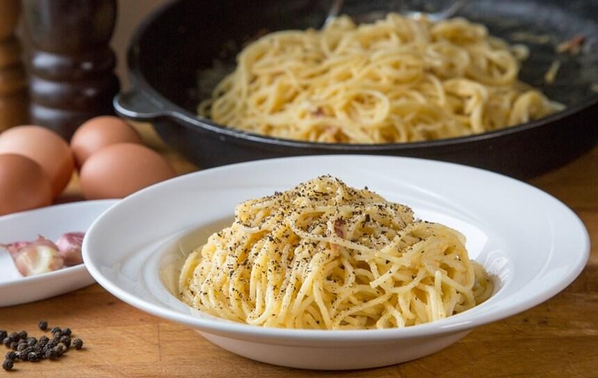 spageti carbonara