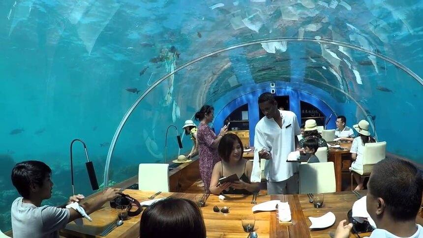 ithaa restoran maldivi