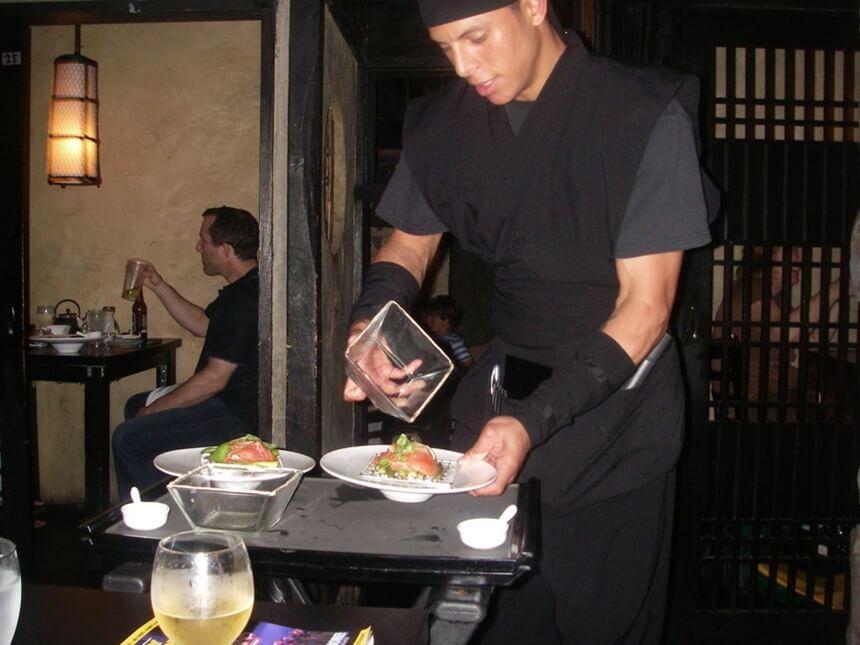 ninja restoran new york