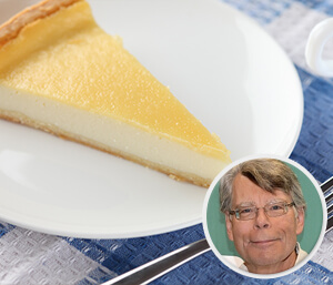 steven king cheesecake