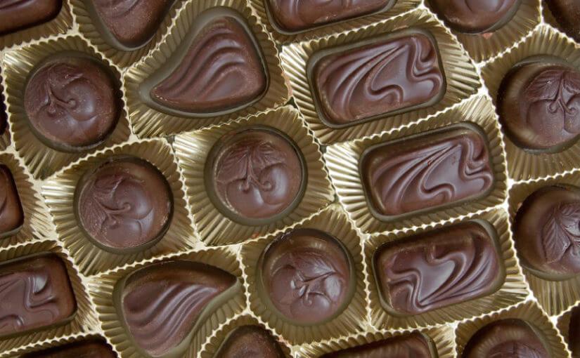 Čokoladne praline s bademima