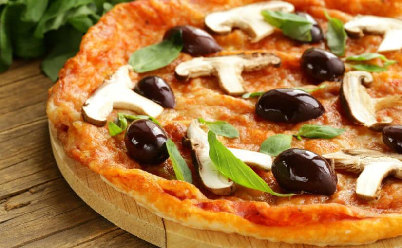 Zdrava pizza od tune