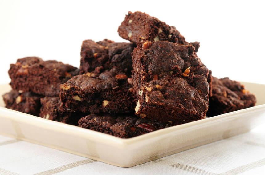 Brownie od čokolade, oraha i grožđica