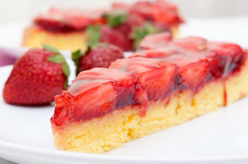 Ljetni kolač od jagoda