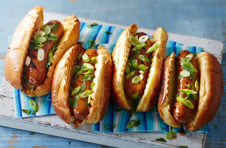 Hot dog u slatko-kiselom umaku