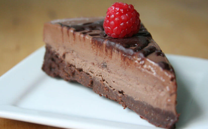 Sladoled torta od čokolade