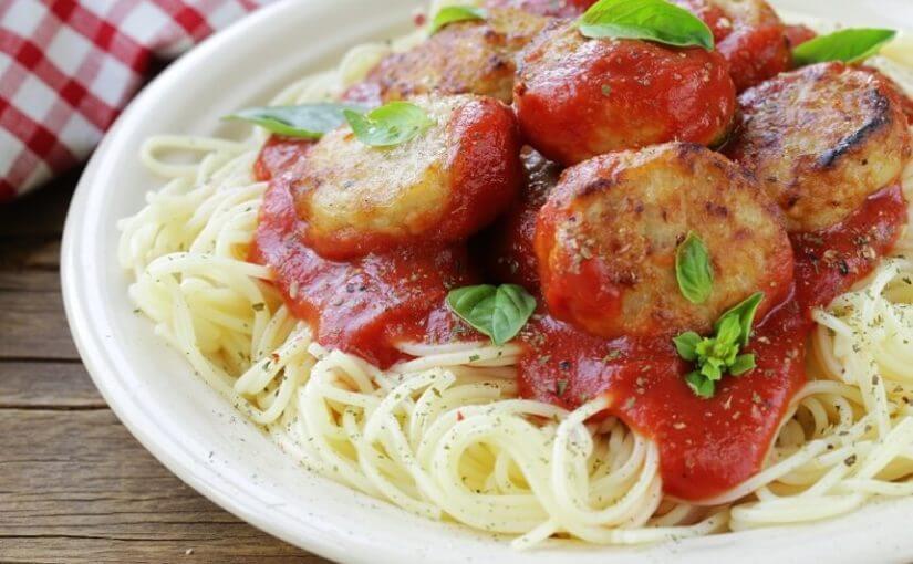 Talijanski umak za špagete s mesnim okruglicama