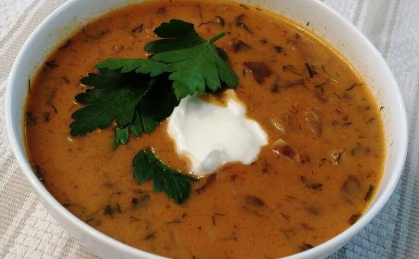 Mađarska juha od gljiva