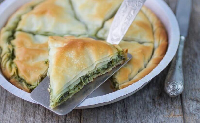 Grčka pita od špinata (Spanakopita)