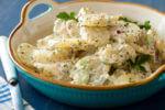 Kremasta krumpir salata s jajima i celerom