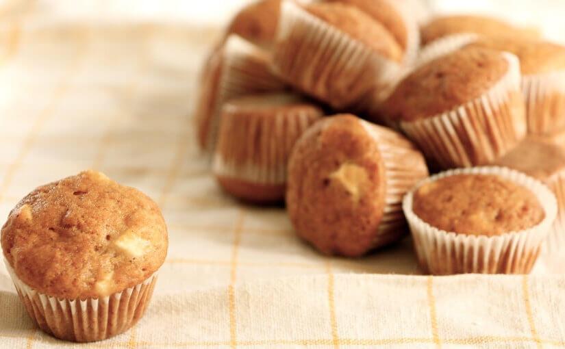 Muffini s jabukama i cimetom