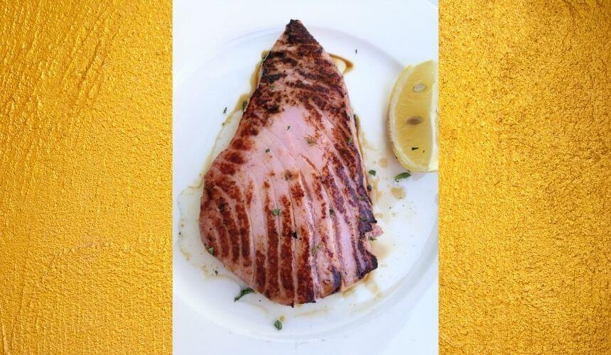 Tuna steak - priprema